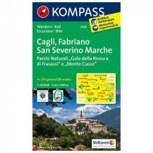 Kompass - Cagli - Wandelkaarten
