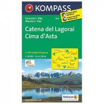 Kompass - Catena del Lagorai - Wanderkarte