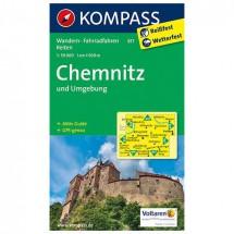 Kompass - Chemnitz und Umgebung - Wandelkaarten