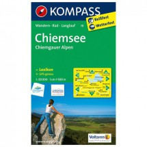 Kompass - Chiemsee - Chiemgauer Alpen - Wanderkarte
