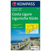 Kompass - Costa Ligure - Cartes de randonnée