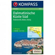 Kompass - Dalmatinische Küste Süd - Wanderkarte