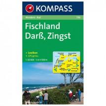 Kompass - Darss - Wanderkarte