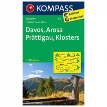 Kompass - Davos - Hiking Maps