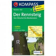 Kompass - Der Rennsteig - Hiking Maps