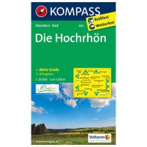 Kompass - Die Hochrhön - Wandelkaarten