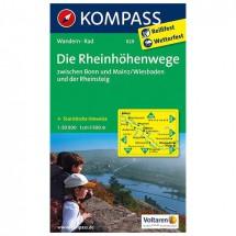 Kompass - Rheinhöhenwege zwischen Bonn und Mainz, Rheinsteig