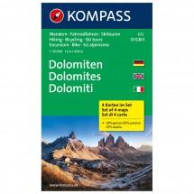 Kompass - Dolomiten - Vaelluskartat