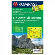 Kompass - Dolomiti di Brenta - Weltnaturerbe