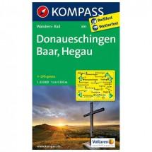 Kompass - Donaueschingen - Wanderkarte