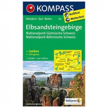 Kompass - Elbsandsteingebirge - Wanderkarte