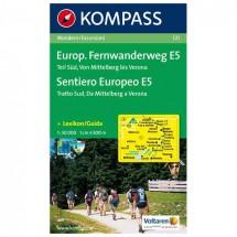 Kompass - Europäischer Fernwanderweg E5, Teil Süd, 1:50000