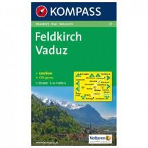 Kompass - Feldkirch - Cartes de randonnée
