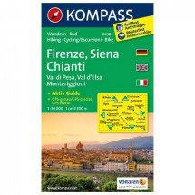 Kompass - Firenze - Wandelkaarten