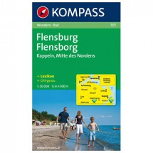 Kompass - Flensburg / Flensborg - Hiking Maps
