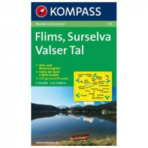Kompass - Flims - Cartes de randonnée