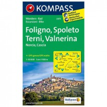 Kompass - Foligno - Hiking Maps