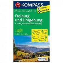 Kompass - Freiburg und Umgebung - Vaelluskartat