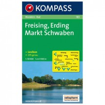Kompass - Freising - Wanderkarte