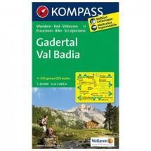 Kompass - Gadertal - Cartes de randonnée