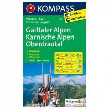Kompass - Gailtaler Alpen - Wanderkarte