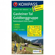 Kompass - Gasteiner Tal - Wanderkarte