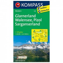 Kompass - Glarnerland - Wandelkaarten
