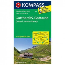 Kompass - Gotthard/S. Gottardo - Hiking Maps