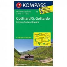 Kompass - Gotthard/S. Gottardo - Wandelkaarten