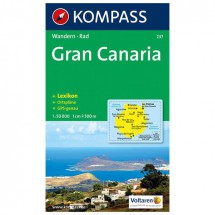Kompass - Gran Canaria - Vaelluskartat