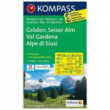 Kompass - Gröden - Hiking Maps