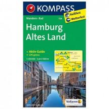 Kompass - Hamburg - Wanderkarte