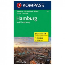 Kompass - Hamburg und Umgebung - Wandelkaarten