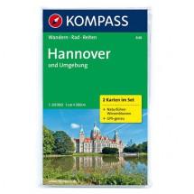 Kompass - Hannover und Umgebung - Wanderkarte