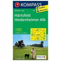 Kompass - Härtsfeld - Wanderkarte