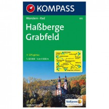 Kompass - Haßberge - Cartes de randonnée