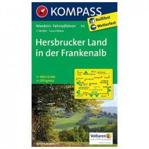 Kompass - Hersbrucker Land in der Frankenalb - Wanderkarte