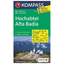 Kompass - Hochabtei - Hiking Maps