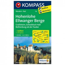 Kompass - Hohenlohe - Wandelkaarten