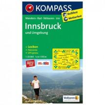 Kompass - Innsbruck und Umgebung - Cartes de randonnée