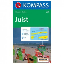 Kompass - Insel Juist - Hiking Maps