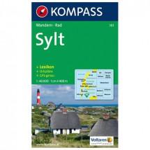 Kompass - Sylt mit Ortsplänen und Strassenverzeichnissen