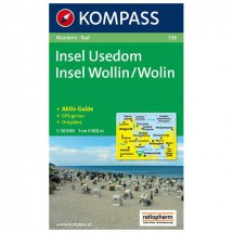 Kompass - Insel Usedom /Insel Wollin - Wanderkarte