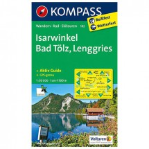 Kompass - Isarwinkel - Wanderkarte