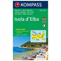 Kompass - Isola d' Elba - Wandelkaarten