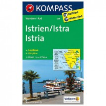 Kompass - Istrien / Istra / Istria - Hiking Maps