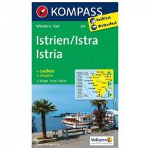 Kompass - Istrien / Istra / Istria - Wanderkarte