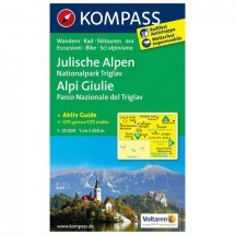 Kompass - Julische Alpen - Hiking Maps