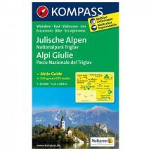 Kompass - Julische Alpen - Wanderkarte