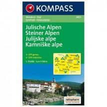 Kompass - Julische Alpen/Julijske alpe - Wanderkarte